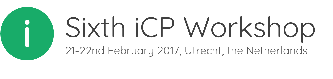 6th iCP Course Utrecth, Netherlands